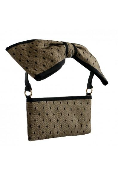 Red Valentino Women's Beige & Black Canvas Shoulder Bag Clutch: Picture 2