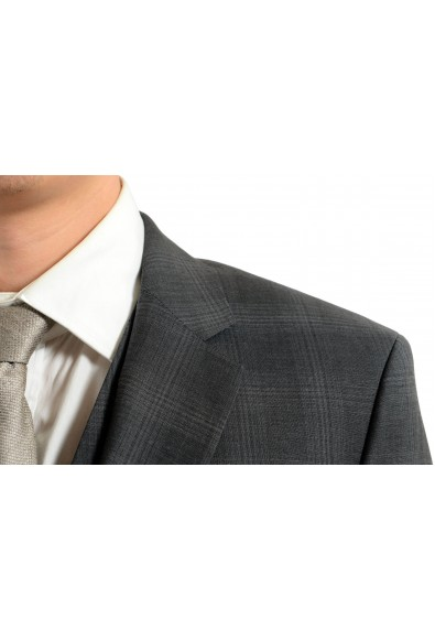 """Hugo Boss """"The Grand/Central2WE"""" Men's 100% Wool Plaid Three Piece Suit: Picture 2"""