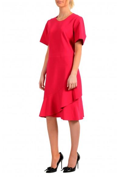 "Hugo Boss Women's ""Kasica"" Bright Pink Short Sleeve Shift Dress: Picture 2"