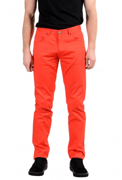 Versace Jeans Men's Stretch Red Skinny Jeans