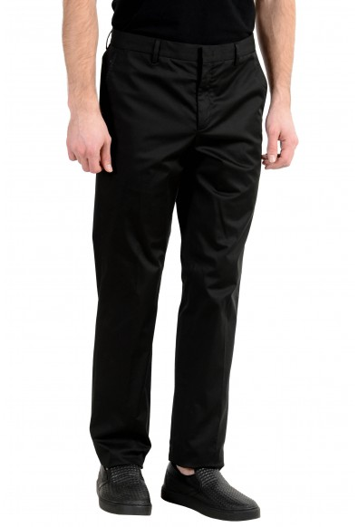Versace Collection Men's Black Stretch Casual Pants: Picture 2
