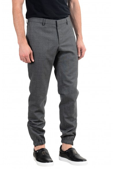 "Hugo Boss ""Bret"" Men's 100% Wool Gray Casual Pants: Picture 2"