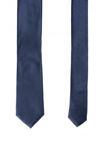 Hugo Boss Men's Geometric Print 100% Silk Tie: Picture 2
