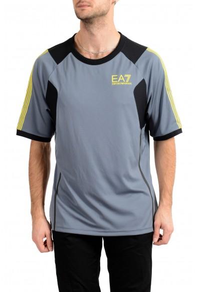 Emporio Armani EA7 Air Duct Men's Gray Crewneck T-Shirt
