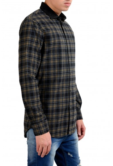 Dsquared2 Flannel Long Sleeve Men's Button Front Casual Shirt: Picture 2