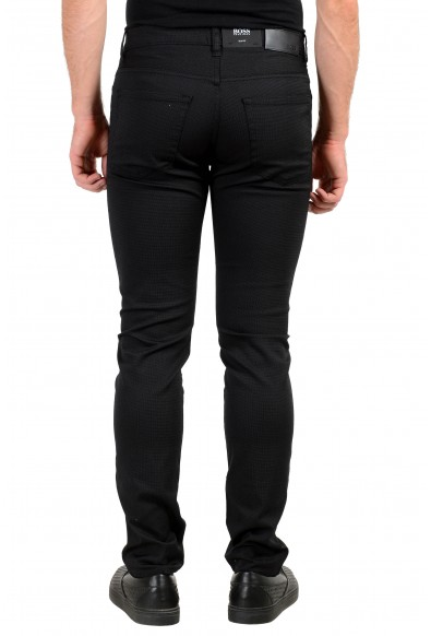 "Hugo Boss Men's ""Delaware3-1-20"" Off Black Stretch Jeans : Picture 2"