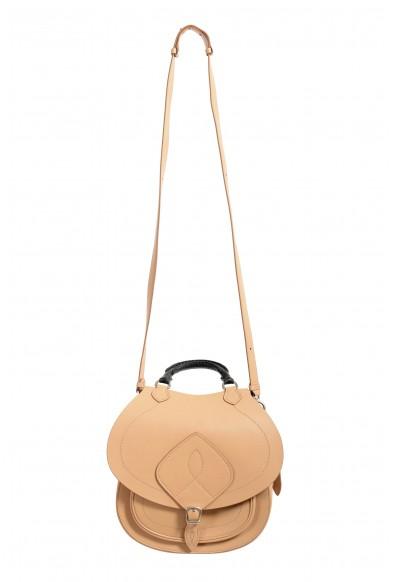 Maison Margiela Women's Brown Leather Saddle Handbag Backpack Shoulder Bag