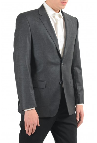 Versace Collection Men's Wool Gray Two Button Blazer Sport Coat: Picture 2