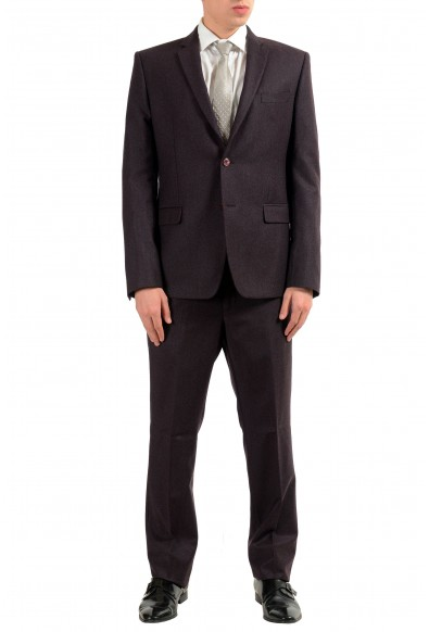Versace Collection Men's 100% Wool Two Button Suit