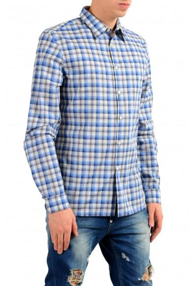 Prada Men's Plaid Long Sleeve Dress Shirt: Picture 2