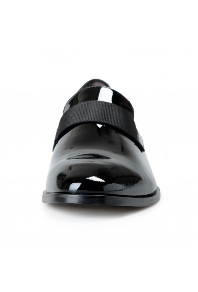 """Hugo Boss Men's """"Highline_Slon_pa2"""" Black Patent Leather Loafers Slip On Shoes: Picture 2"""