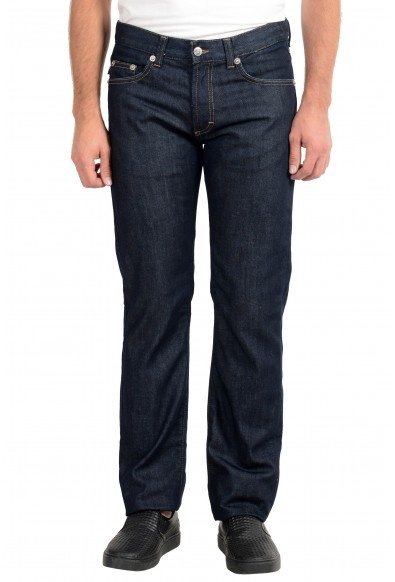 Just Cavalli Men's Blue Straight Leg Jeans