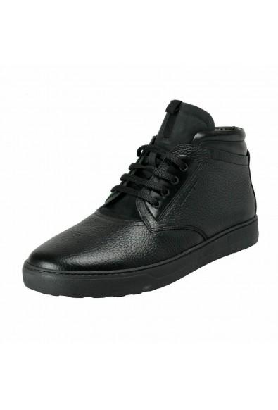 Salvatore Ferragamo Men's GORIZIA 3 Winter Fur Boots Shoes