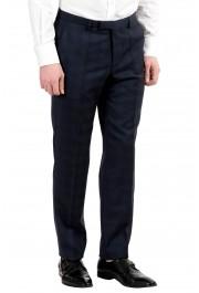 "Hugo Boss ""Johnstons2/Lenon"" Men's 100% Wool Blue Plaid Two Button Suit: Picture 10"