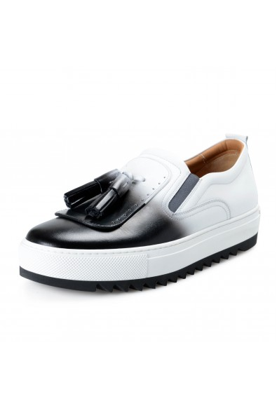 Salvatore Ferragamo Men's LUCCA Leather Loafers Shoes