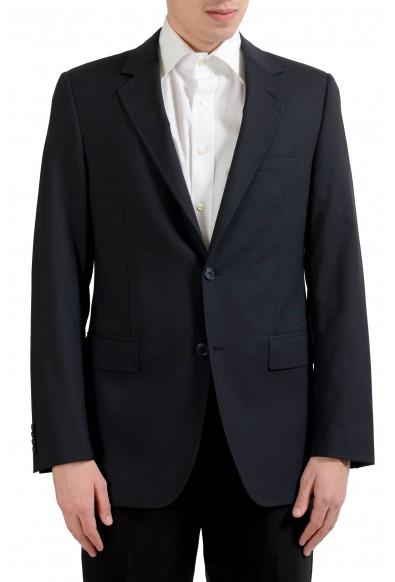 "Dolce & Gabbana ""Sicilia"" Men's Wool Stretch Black Blazer Sport Coat"