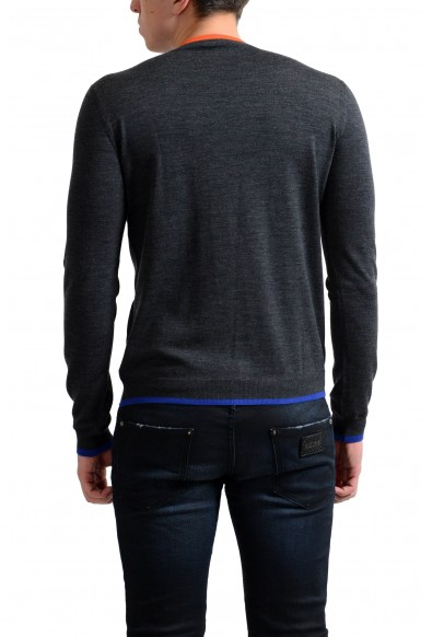 Prada Men's 100% Wool Gray Crewneck Pullover Sweater : Picture 2