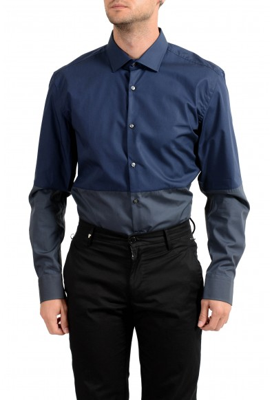 """Hugo Boss Men's """"Jeven"""" Slim Fit Long Sleeve Dress Shirt: Picture 2"""