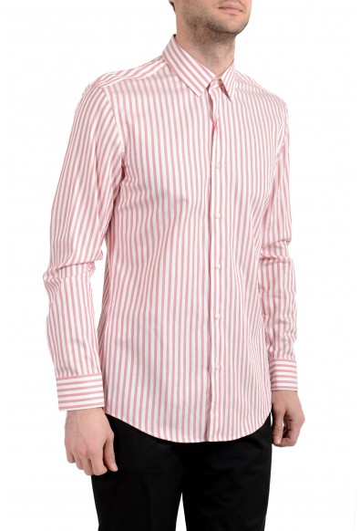"Hugo Boss ""Kemp"" Men's Slim Striped Long Sleeve Dress Shirt"