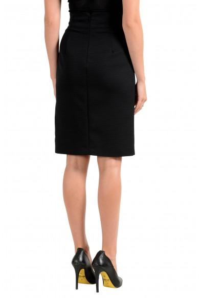 Versace Women's Black Pencil Skirt: Picture 2