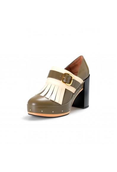 Marni Women's Multi-Color High Heel Platform Pumps Shoes