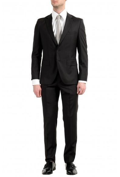 "Hugo Boss ""Jewels2/Linus"" Men's Dark Brown 100% Wool Two Button Suit"