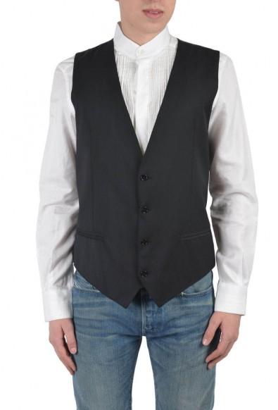 Dolce & Gabbana Men's Gray Wool Vest
