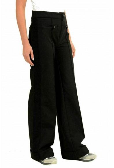 Moncler Women's Black Wide Leg Winter Casual Pants: Picture 2