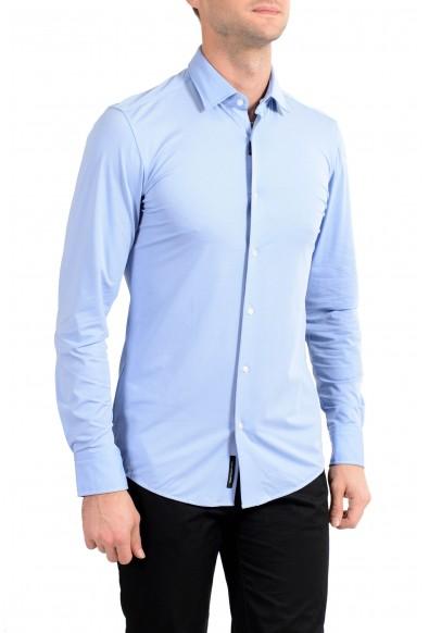 "Hugo Boss Men's ""Jenno"" Slim Fit Plaid Long Sleeve Dress Shirt"