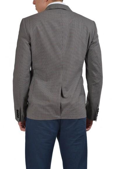 Lanvin Wool Multi-Color Checkered Two Button Men's Blazer: Picture 2