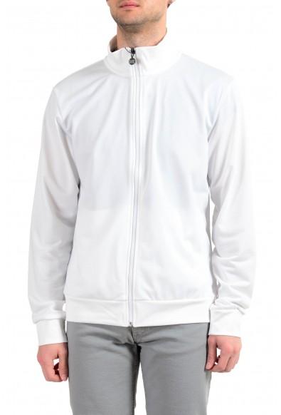 "Emporio Armani EA7 ""Train Big"" Men's White Full Zip Track Jacket"