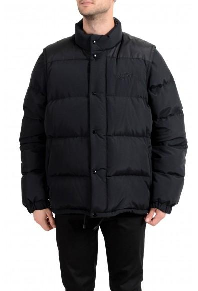 "Burberry London Men's ""HILLCROSS"" Black Down Parka Vest Jacket"