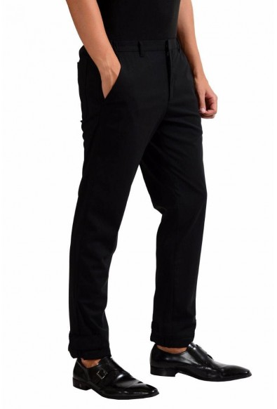 Prada Men's Black Wool Dress Pants : Picture 2