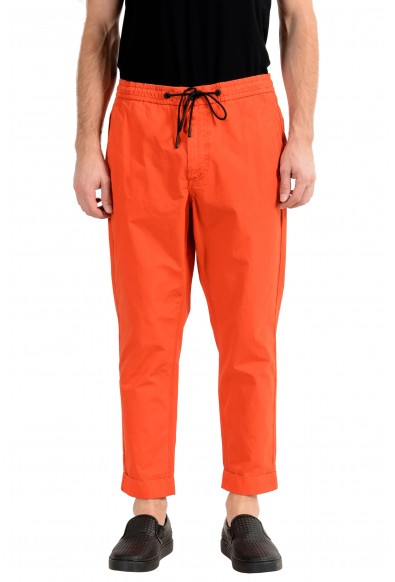 """Hugo Boss """"Sabriel2"""" Men's Orange Tapered Fit Casual Pants"""