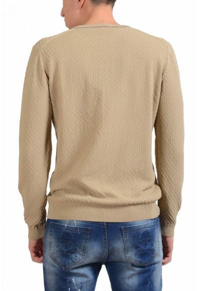 Malo V-Neck Men's Beige Light Sweater: Picture 2