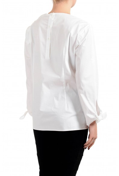 """Hugo Boss Women's """"Isolema"""" White Blouse Top Shirt: Picture 2"""