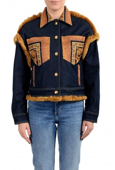 Versace Women's Multi-Color Barocco Jean Jacket