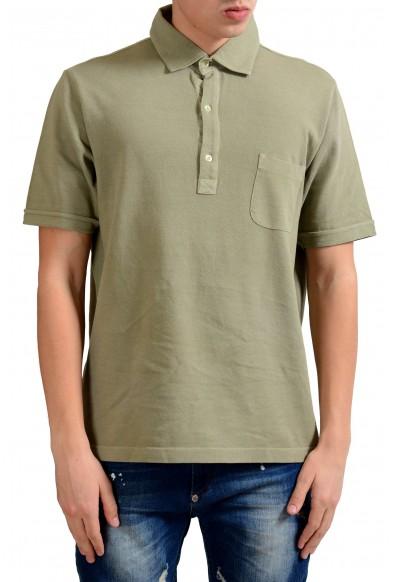 Malo Men's Moss Green Short Sleeve Polo Shirt