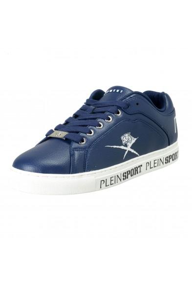 """Plein Sport """"Julian"""" Blue Fashion Sneakers Shoes"""