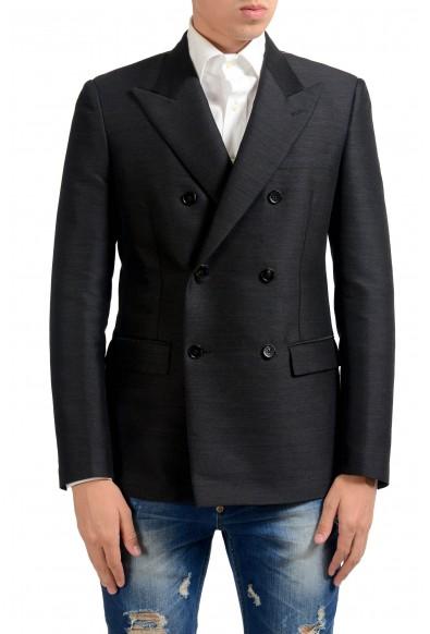 Maison Margiela 14 Men's Wool Double Breasted Blazer Sport Coat
