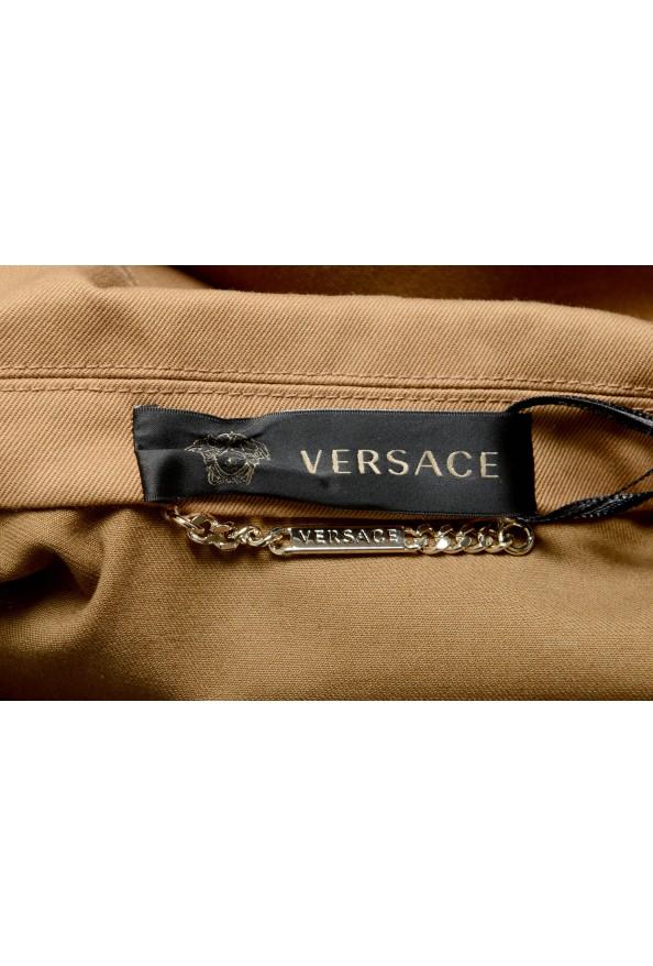 Versace Women's Brown Button Down Blazer Jacket Coat: Picture 3