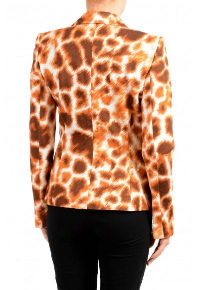 Just Cavalli Women's Multi-Color One Button Animal Print Blazer: Picture 2