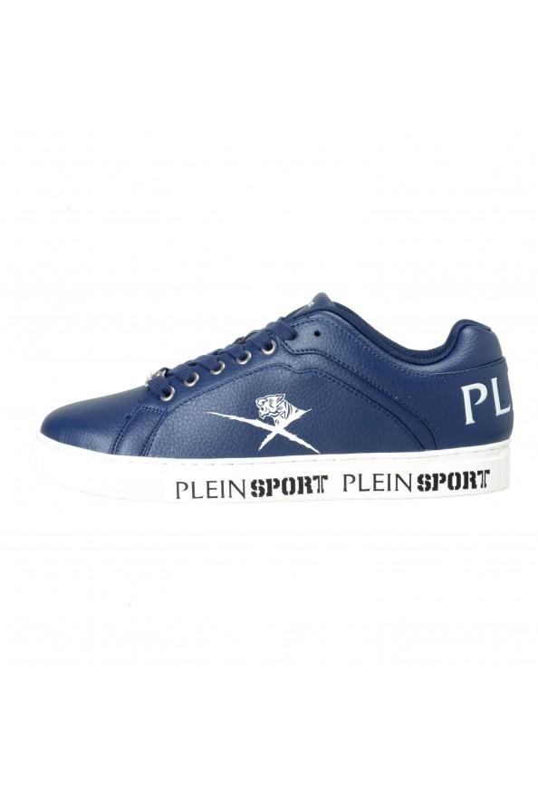 "Plein Sport ""Julian"" Blue Fashion Sneakers Shoes: Picture 2"