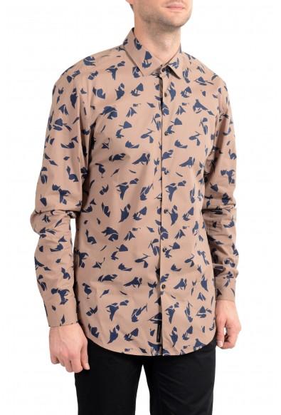 "Hugo Boss Men's ""Ismo"" Slim Fit Geometric Print Dress Shirt: Picture 2"