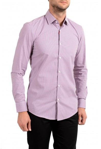 "Hugo Boss Men's ""C-Joey"" Slim Fit Plaid Long Sleeve Dress Shirt"