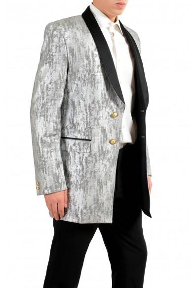 Versace Versus Men's Silver Tuxedo Two Button Blazer Sport Coat : Picture 2
