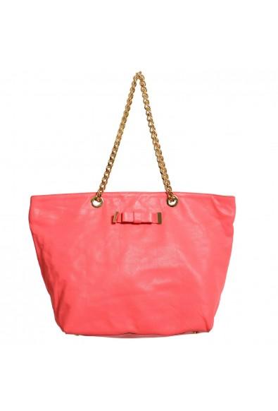 Red Valentino Women's Pink 100% Leather Handbag Shoulder Bag