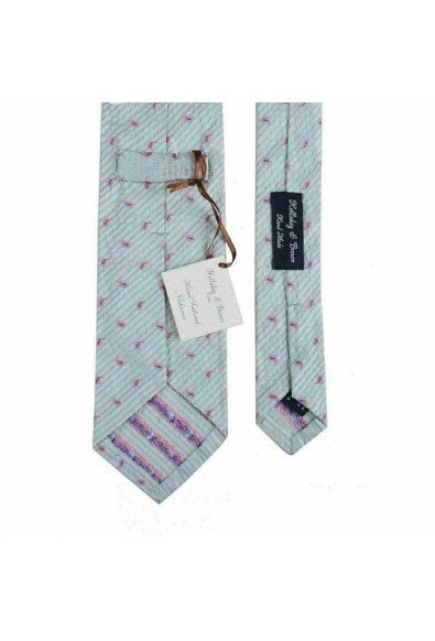 Holliday & Brown 100% Silk Hand Made Multi-Color Neckwear Tie Cravat: Picture 2