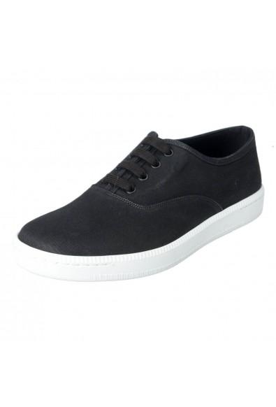 Car Shoe By Prada Men's Black Canvas Fashion Sneakers Shoes