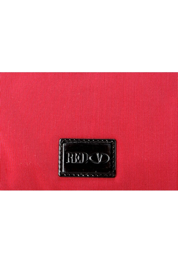 Red Valentino Women's True Red Canvas Bows Decorated Clutch Bag: Picture 5
